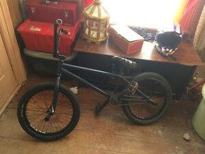 Custom built bmx bike