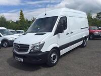 2014 14 MERCEDES-BENZ SPRINTER 2.1 313 CDI MWB 129 BHP DIESEL MEDIUM PANEL VAN