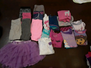 Size 3T girls fall/winter lot