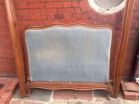 Beautiful double French bed