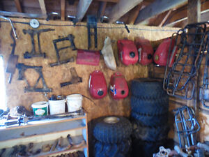 parts for 250 big red, fourtrax and 200 big red and fourtrax