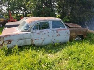 1952 Ford Customline Car Complete for Restoration –$2,500