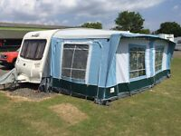 2006 Bailey Pageant Provence 5 Berth Series 5 with full size awning L-shape lounge