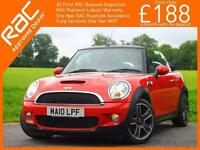 2010 Mini Cabriolet 1.6 Convertible S 6 Speed Electric Soft Top Chili Pack Leath