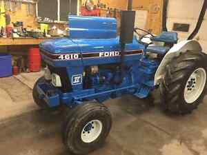 Ford 4610 Tractor, Orchard Special