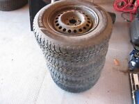 For Sale - Set of 4 Goodyear Nordic Winter Tires