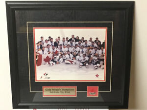 Team Canada Olympic Gold Team Photo