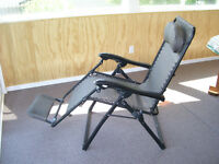 Chair, patio, comfortable, adjustable reclining
