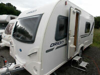 Bailey Orion 430/4 2013 Fixed Bed Lightweight & Compact 4 Berth Touring Caravan