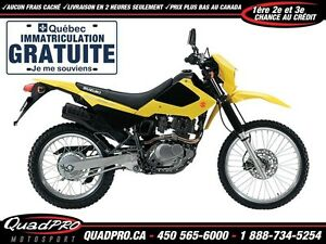 2017 Suzuki DR 200 SE 12,48$/SEMAINE