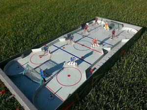 1950's Rare Hockey Game Table Top Montreal All Stars Made In Can