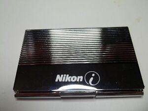 Nikon Silver Case.