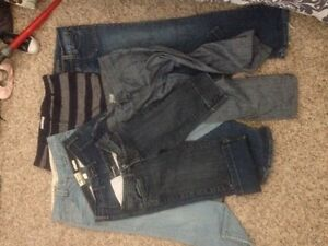 Ladies Jeans & capris small and medium