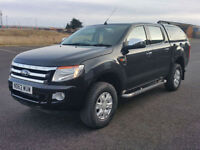 63 Plate Ford Ranger 2.2TDCi (150PS) 4x4 XLT Low miles FMDSH