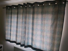 NEXT eyelet curtains (135 x 137cm)