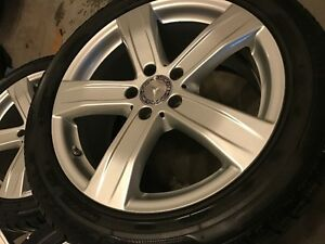 Winter tires for Mercedes S class-Condidtion As new London Ontario image 5