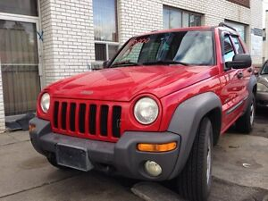 2003 Jeep Liberty Sports 4X4 Certy &E Test 180000 KMS $$2450