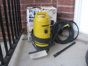 Karcher 1100 PSI power washer