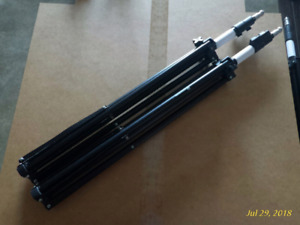 Photography light stands (7ft high) two available