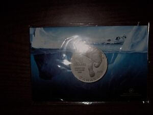 Excellent Christmas Gift - 2012 $20 Polar Bear Silver Coin