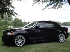 BMW 128 i 2011 Noir Cabriolet