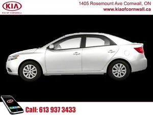 2013 Kia Forte EX   | Excellent Fuel Economy | Packed with Value Cornwall Ontario image 1