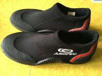 Aropec and akona brand water shoes
