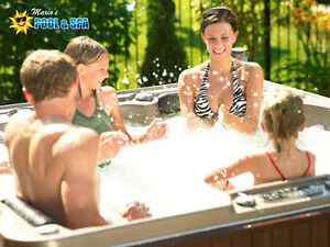 Find Your Fit! Huge Savings On Acrylic Hot Tubs!