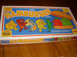 ENGLISH/FRENCH HAMBURGER GAME