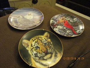 Numbered Wildlife Collector Plates Peterborough Peterborough Area image 2