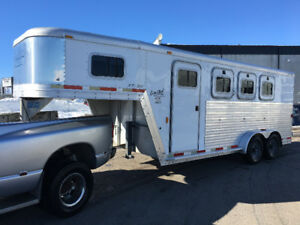 2003 Exiss XT300 Event Limited Horse Trailer GN Angle Haul