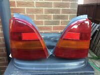 Toyota starlet Glanza 96spec rear lights