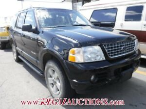 2005 FORD EXPLORER LIMITED 4D UTILITY LIMITED