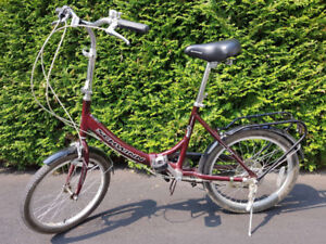 Like new foldable Schwinn bike for sale