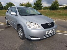 Toyota Corolla 1.6 automatic with s MOT