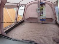 Outwell 4 person tent with front porch. And all equipment needed for trip away.