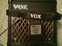 Vox DA-5 Multi FX amp + 3 strat copies - see my other ads