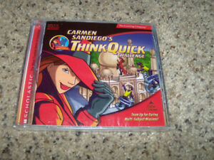 Carmen Sandiego's Think Quick Challenge (PC Game)