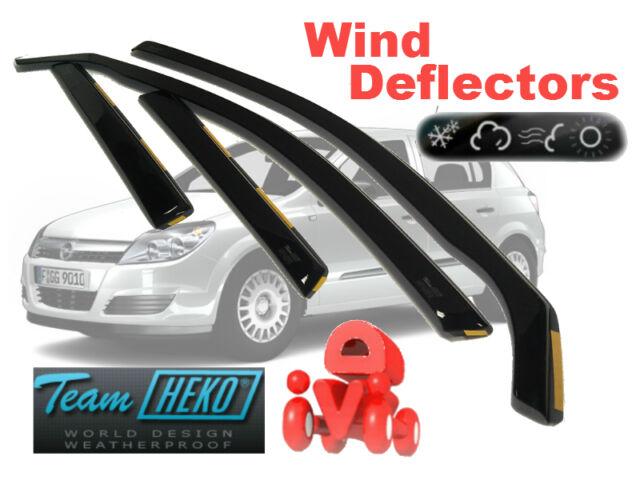 Opel VAUXHALL Astra H MK 5 2005 - 2009 ESTATE  Wind deflectors 4.pc  HEKO 25370