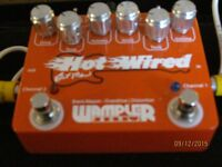 Wampler Hot Wired - Dual Overdrive and Distortion Pedal