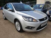 2009 FORD FOCUS 1.6 TITANIUM 5 DOOR MANUAL FULL FORD HISTORY 75K