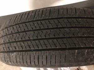 4 Bridgestone tires LIKE NEW