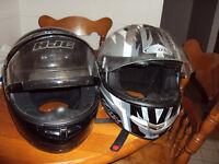 2 Helmets FS: