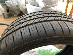 Goodyear Eagle LS2 245/40R19 run on flats 5 series BMW tires new