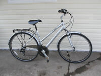 LADIES HUFFY  21 SPEED HYBRID STYLE BIKE