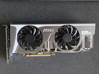 MSI NVIDIA GeForce GTX 580 N580GTX TWIN FROZR II/OC 1.5 GB GDDR5
