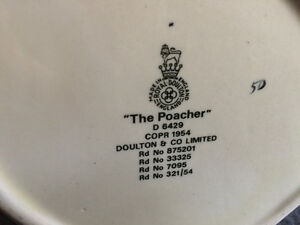 "Collectible Antique Royal Doulton ""The Poacher"" Mug London Ontario image 5"