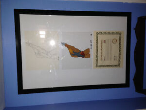 He-Man animation cell with certificate of authenticity