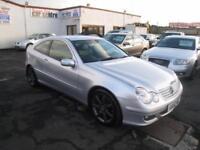 Mercedes Benz C220 2.1TD CDI SE Diesel Automatic. 12 Months MOT