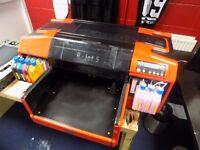 Quick Sale Resolute DTG R-Jet 5 Textile Printer Garments £2499